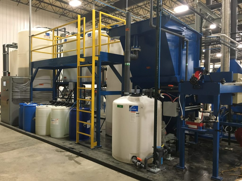 Continuous Flow Wastewater Treatment