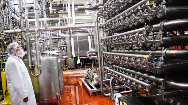 Milk Filtration System